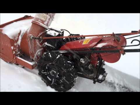 Video #11 Gravely Tractor Demonstration Series 1959 L + MA210 Snowblower GravelyWV