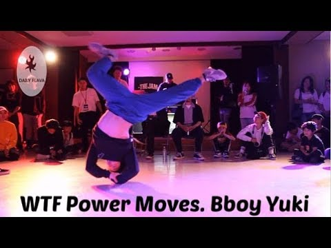 Bboy Yuki 2018-2019. WTF Power Moves From Japan's Power Move Legend