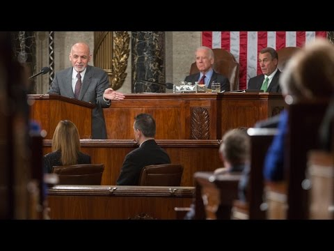 President Ashraf Ghani of Afghanistan's Address to a Joint Meeting of Congress