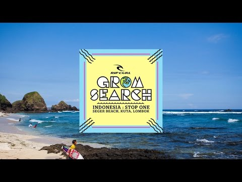 Rip Curl GromSearch 2015 - The Highlights Of 1st Stop At Seger Beach, Kuta - Lombok
