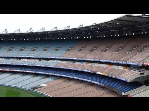Melbourne Cricket Ground MCG tour 15th September 2014