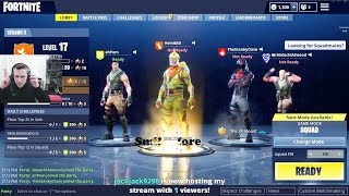 ROMAN ATWOOD getting ready to play FORTNITE
