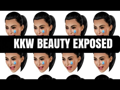 KKW BEAUTY EXPOSED WITH RECEIPTS