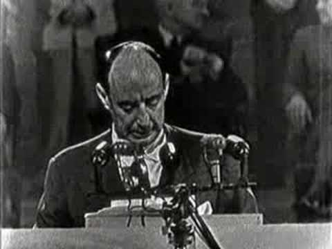 1952 DNC: Democrats draft Adlai Stevenson to face Ike