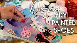 Disney DIY Painted Shoes   Wreck it Ralph 2 Inspired Art