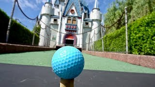 COMPETITIVE MINI GOLF at Castle Fun Park