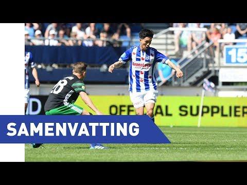 Eredivisie speelronde 34: sc Heerenveen - Feyenoord (2017/2018)