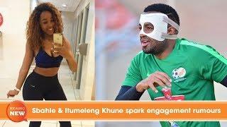 Sbahle & Itumeleng Khune spark engagement rumours