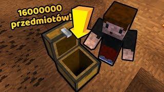 SKRZYNIA BEZ DNA! *16000000 przedmiotów* - Minecraft Caveblock 2.0