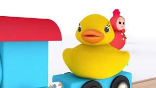 Учимся считать до 20 Развивающий мультфильм про паровозик и числа  Мультики для самых маленьких