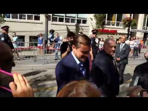 Leonardo DiCaprio at Toronto International Film Festival (TIFF) 2016 [Travelling Foodie]