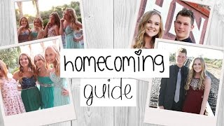 Homecoming Guide & Life Hacks | Tips for Perfect Hair, Makeup, Dress, etc.