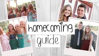 Homecoming Guide & Life Hacks | Tips for Perfect Hair, Makeup, Dress, etc.