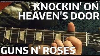 Knockin' On Heaven's Door - Guns N' Roses - Guitar Lesson