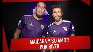 Maidana y su amor por River - Presentación de la camiseta alternativa de River