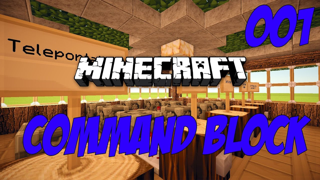 Minecraft Tutorial Command Block Die Grundlagen Deutsch - Minecraft hohlen hauser