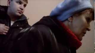 Томск. Голодовка замерзающих жителей дома по Иркутскому тракту 174/2, 29 января 2014 года.