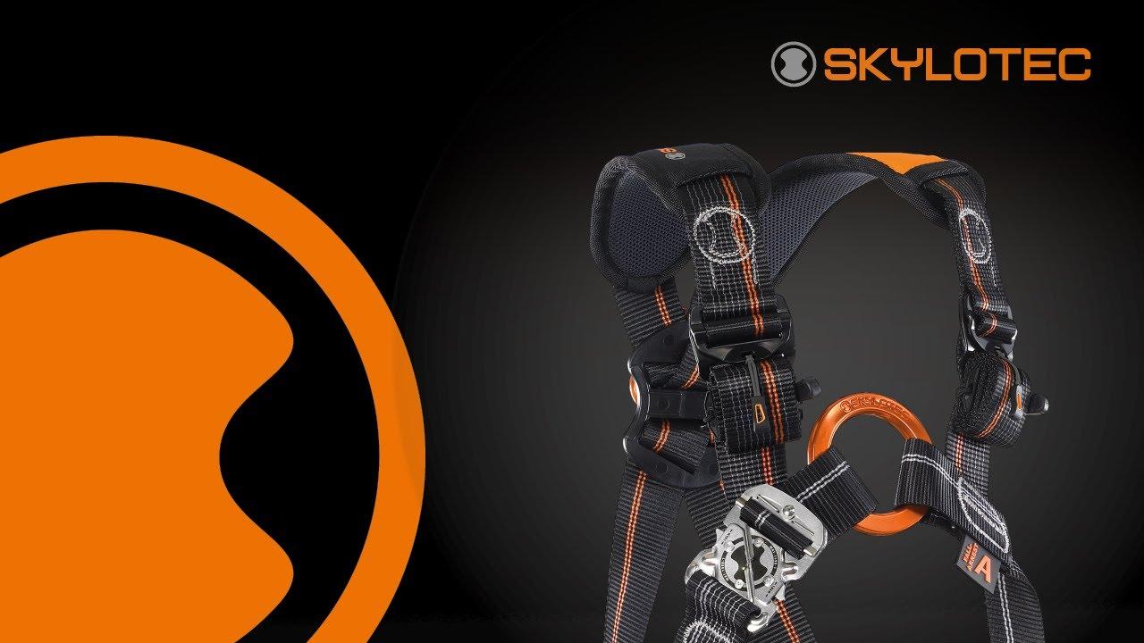 Skylotec Klettergurt Vergleich : Skylotec ignite trion application youtube