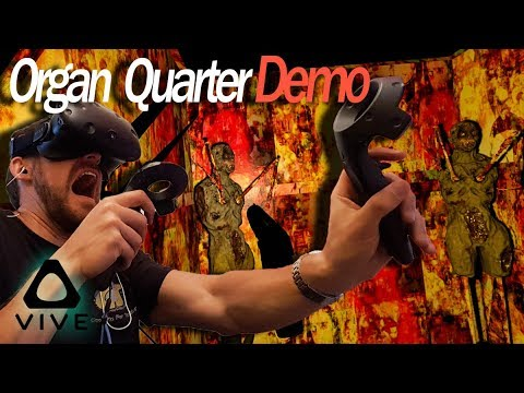 Organ Quarter VR Demo - Dont Take My Organs