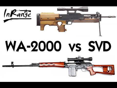 Ostfront 1987: Walther WA-2000 vs SVD Dragunov