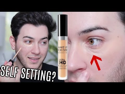 NEW SELF SETTING CONCEALER REVIEW! thumbnail
