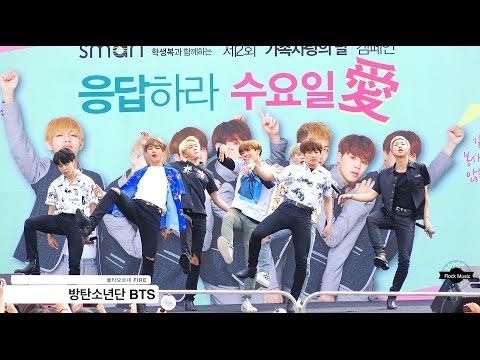 방탄소년단 BTS[4K직캠]불타오르네 FIRE (음원교체 Ver)@20160604 Rock Music