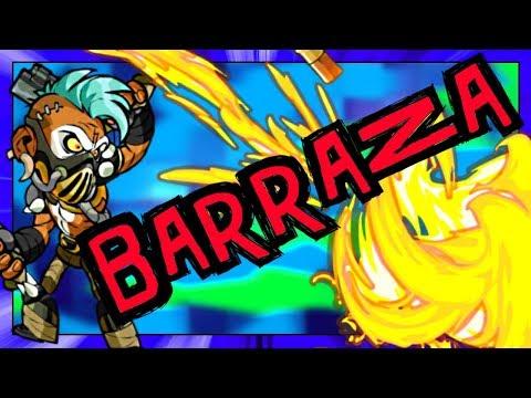 BARRAZA Showcase!! • Brawlhalla 1v1 Gameplay