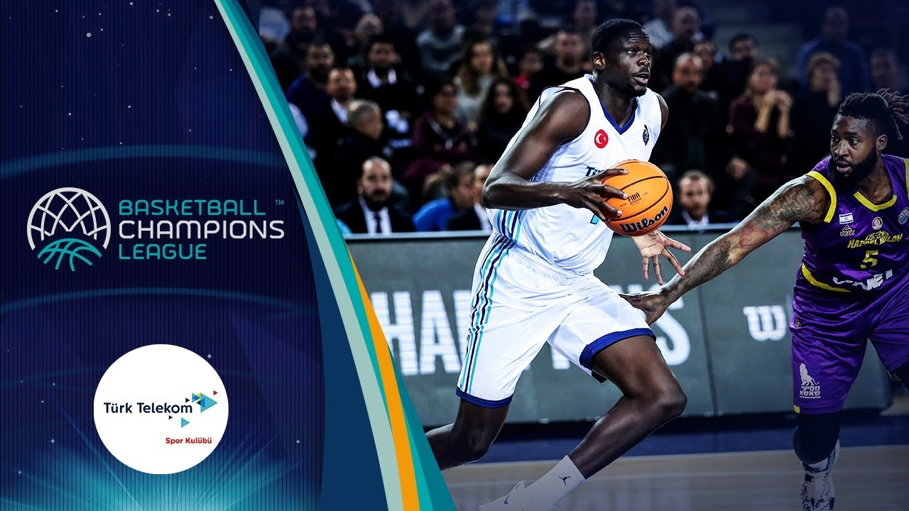 Moustapha Fall (Türk Telekom) | Highlight Tape | Basketball Champions League 2019