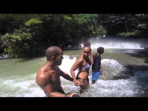 YS Falls Zip Line St Elizabeth Jamaica 2015