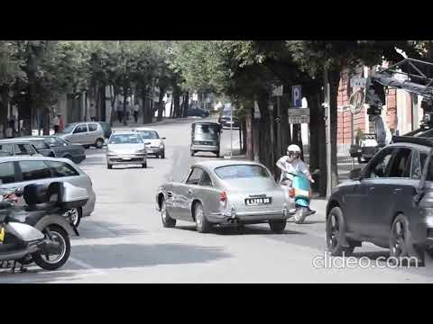 James Bond - No Time To Die: Shooting Aston Martin DB5 In Matera, Italy (3)
