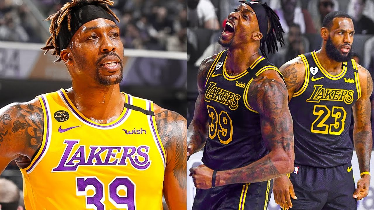 Dwight Howard is BACK 💛💜 Welcome Back to LA Lakers !