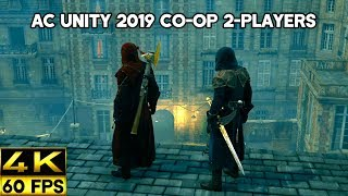 Assassin's Creed Unity Public 2-Player Co-Op & Stealth Kills - Ultra Settings (4K 60FPS)