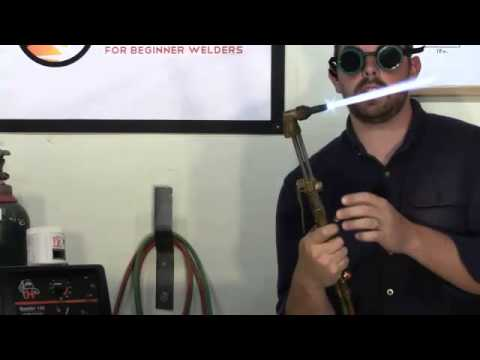 Cutting Torch Magic - How To Use A Cutting Torch - YouTube
