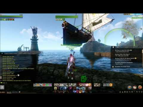Flying merchant ship Archeage