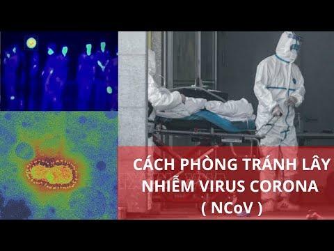 CÁCH PHÒNG TRÁNH LÂY NHIỄM VIRUS CORONA