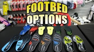 Footbed / insole options to reduce foot pain for Hockey Players