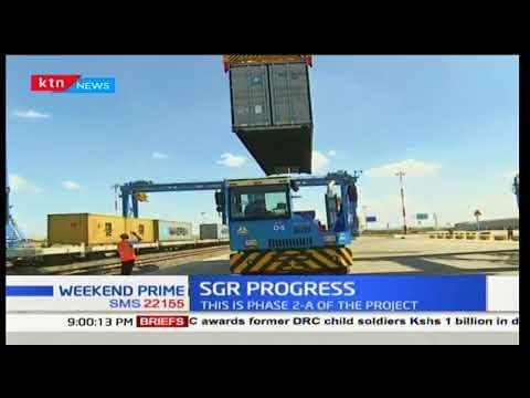President Uhuru Kenyatta promises to expand inland container depot