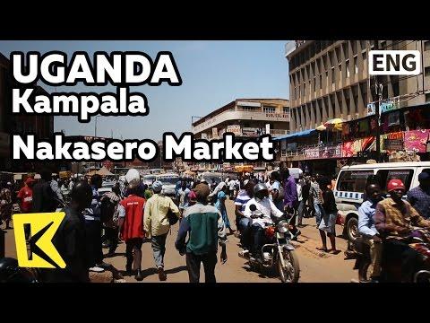 【K】Uganda Travel-Kampala[Uganda 여행-캄팔라]물류 요충지 나카세로 시장/Nakasero Market/Soju/Jinro