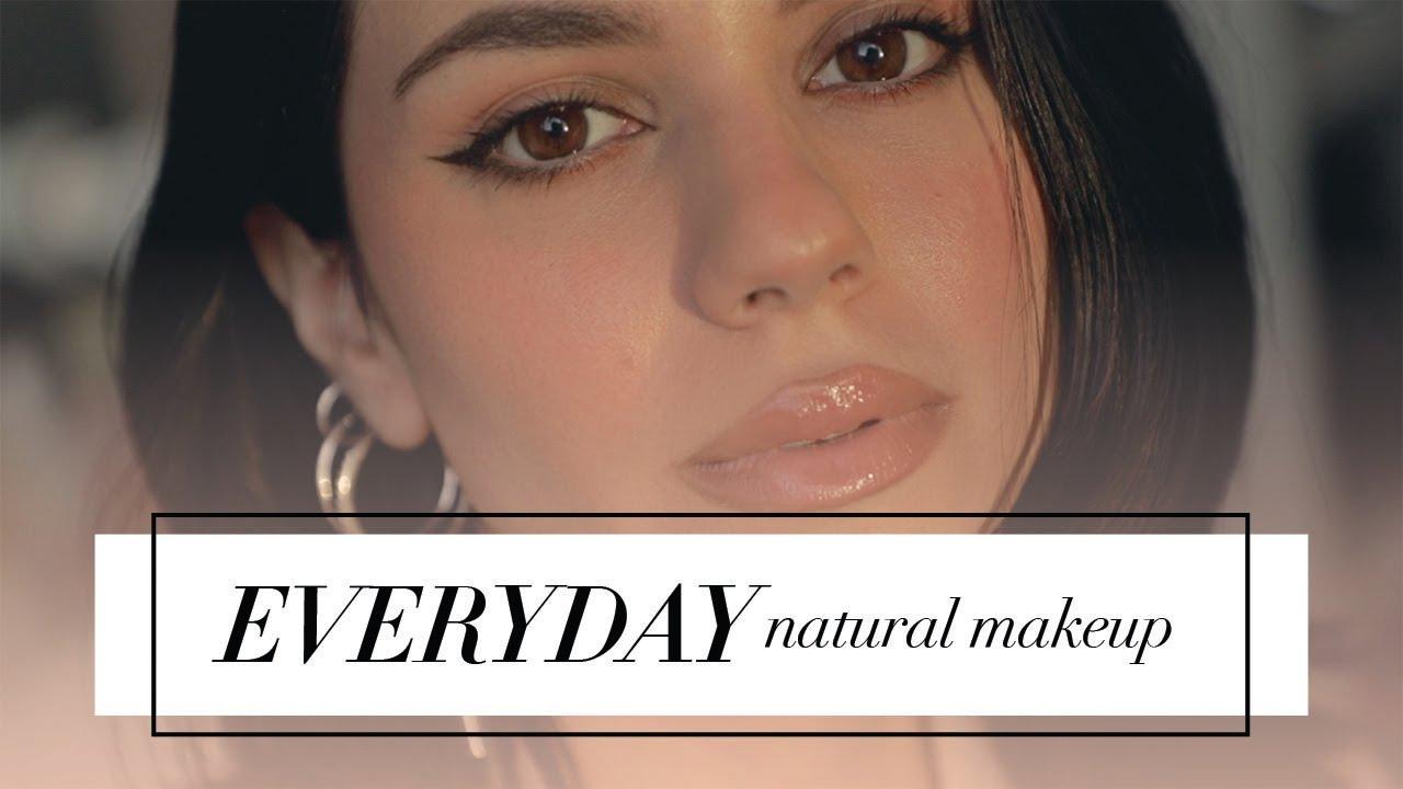 Rutina diaria de maquillaje natural