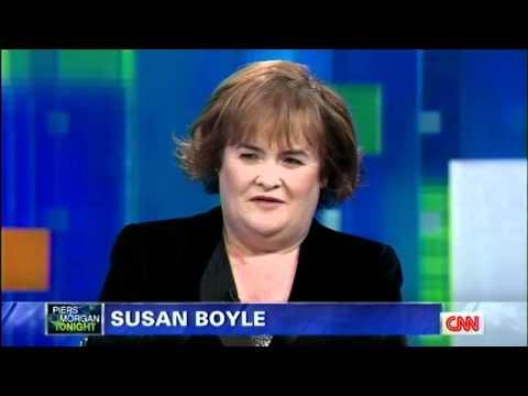 "Susan Boyle ~ ""Both Sides Now"" & Interview ~ Piers Morgan CNN (4 Nov 11)"