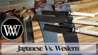 Japanese Saws Vs. Western Saws | Which Is better for Hand Tool Woodworking
