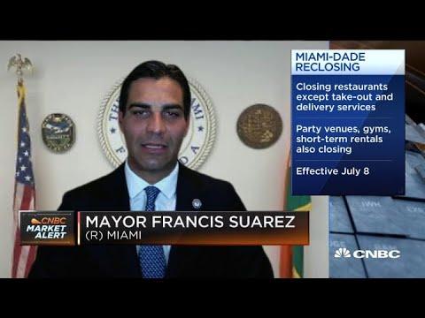 Miami Mayor Francis Suarez on re-closing because of surging coronavirus cases