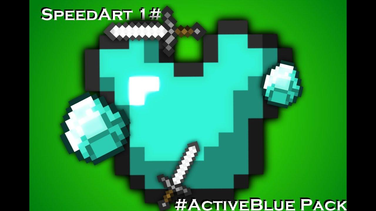 SpeedArt Texture 1# - #ActiveBlue Pack DOWNLOAD - YouTube