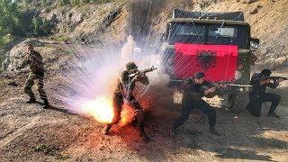 Каскадеры на войне | Cъемки фильма Батальон для телеканала НТВ | Взрывы выстрелы трюки