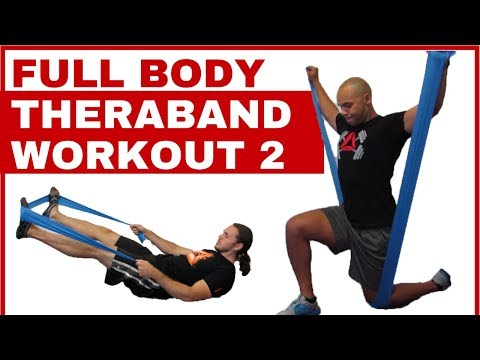 Full body Theraband workout #2