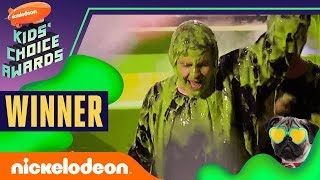 David Dobrik Gets Slimed, Hugs Josh Peck, & Wins Favorite Social Star | 2019 Kids Choice Awards