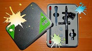Аэрограф с мини-компрессором для покраски моделей(, 2014-10-22T14:56:18.000Z)