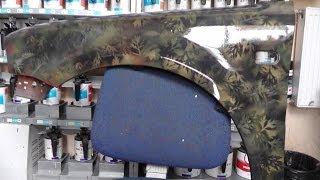 Как покрасить в камуфляж.В матовый лак How to paint camouflage in Matt lacquer