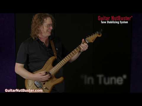 "Guitar NutBuster® Tune Stabilizing System With Johnny DeMarco ""Take Control Of Tuning Problems!"""