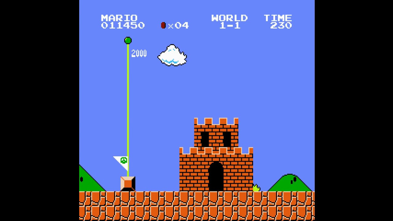 Super Mario Bros  converted to C++ from 6502 Assembly
